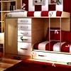 Алфавит: Детская комната (Kids Red Bedroom Hidden Alphabets)