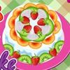 Вкусный пирог (Cook a fruit cake)