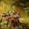 Поиск чисел: Лесная поляна (Forest glade find numbers)