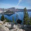 Пазл: Озеро кратер (Crater Lake Jigsaw)