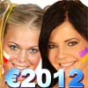 Евро2012: Блондинки ПРОТИВ Брюнеток (E2012-Football (Blondes VS Brunettes))