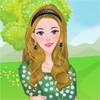 Одевалка: Пикник на лугу (Flower Picking with My Baby Dress Up)