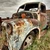 Пазл: Винтажный пикап (Vintage truck puzzle)