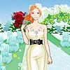 Одевалка: Свадьба в саду (Bride at the garden dress up)