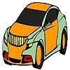 Раскраска: Комфортабельный автомобиль (Comfortable best car coloring)