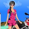 Одевалка: Карина (Carina race dress up)