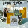 Парные картинки: Медведи (Happy Bear Memory)