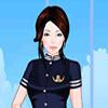 Одевалка: Стюардесса 3 (Sweet Flight Attendant Dress Up 3)