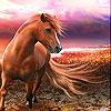 Пятнашки: Фантастический конь (Fantastic horse slide puzzle)