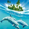 Пазл: Дельфины (Three dolphins puzzle)
