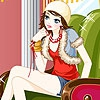 Одевалка: Екатерина (Katy on the armchair dress up)