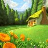 Поиск чисел: На лугу (In the meadow find numbers)
