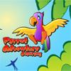 Раскраска: Приключения попугая (Parrot Adventure Coloring)