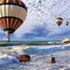 Пазл: Воздушные шары (Huge Balloons And Sea)