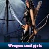 Поиск чисел: Девушки и оружие (Weapon and girls)