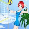 Одевалка: Пляжный волейбол (Cute girls volleyball dress up)