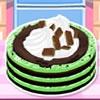 Кулинария: Мятный пирог (Mint Chocolate Chip Ice Cream Cake)