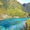 Пазл: Река Цзючжайгоу (Jiuzhaigou River Jigsaw)
