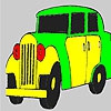 Раскраска: Королевский авто (Big king car coloring)