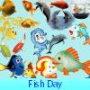 Поиск предметов: Рыбный день (Fish Day. Find objects)