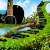 Поиск чисел: С музыкой по миру (Music around the world)