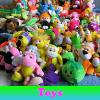 Поиск предметов: Игрушки (Toys. Find objects)