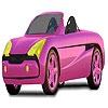 Раскраска: Кабриолет (Pink open top car coloring)