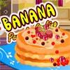 Кулинария: Блинный пирог (Banana Pancake Cooking)