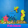 Поиск предметов: Рыбкин дом (Fish house. Find objects)