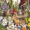 Поиск чисел: Животные в саду (Garden and animals hidden numbers)