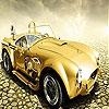 Пятнашки: Золотая тачка (Old golden car slide puzzle)
