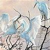 Пятнашки: Грациозные птицы (Gracious birds slide puzzle)