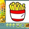 Раскраска: Продукты питания (Food coloring pages)