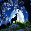 Пятнашки: Волк (Wolf Slide Puzzle)