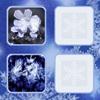 Парные картинки: Снежинки (Snowflakes fast image)