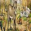 Поиск чисел: Большая ферма (Big farm animals hidden numbers)