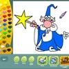 Раскраска: Сказочные персонажи (Fantasy coloring pages)