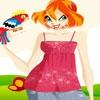 Одевалка: Блум и попугай (Bloom And Parrot)