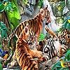 Пазл: Тигрята (Funny tigers puzzle)