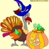 Раскраска: Хеллоуин 7 (Kid's coloring: Happy Halloween 7)