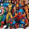 Пазлы: Герои комиксов (Fighting Heroes Jigsaw)