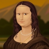 Одевалка: Мона Лиза (Mona Lisa)