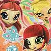 Поиск чисел: Девочки (Little dancer girls hidden numbers)
