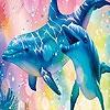 Поиск чисел: Волшебные дельфины (Magic dolphins hidden numbers)