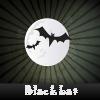 Пять отличий: Летучие мышки (Black bat. Spot the Difference)