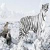 Поиск чисел: Зима на ферме (Winter and animals hidden numbers)
