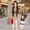 Одевалка: Мама и ребенок (Baby and Mom Dress Up)