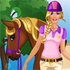 Одевалка: Конная прогулка (Barbie goes Horse Riding)