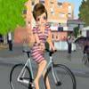 Одевалка: Велосипедистка (Biker Girl Dress Up)