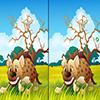 Поиск отличий между животными (Animal Life Spot Difference Game)